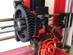 Jhead Compact Extruder for i3 Rework