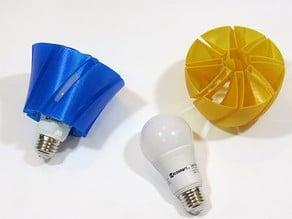 LED Bulb Shades