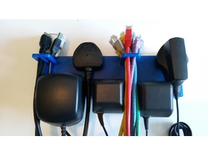 UK Plug & Cable Tidy