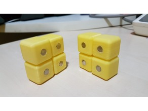 Linked Magnetic Cube
