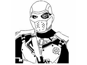 Deadshot stencil