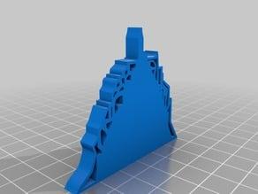 Lucanum in 3D - Lettera A - Scorcio dei Sassi di Matera