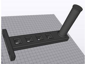 Spool holder 2020 alu profile 1-2 kg spools