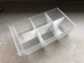 6 times drawer divider for Assortment Rack (Aldi, Allit VarioPlus Hobby 33)