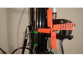 Extruder visualizer (rotation indicator) for 5 / 4.5 mm shaft