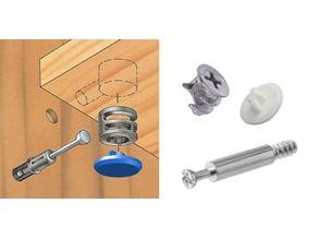 IKEA Furniture Screw Hole Plug