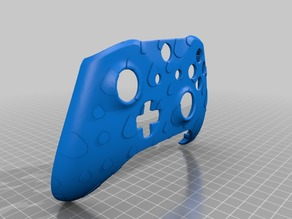 Xbox One S Custom Controller Shell: Custom Raindrop Edition