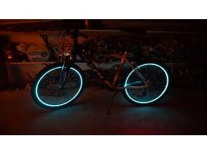 LED mounts for bike light