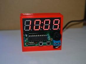 C51 4 Bits Digital Electronic Clock Desk Case / Stand