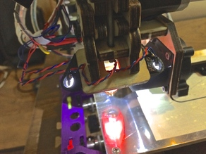 LED Mount for Printrbot Simple 2013