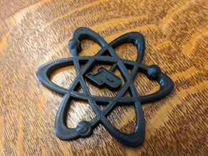 Purdue Chemistry Atom Model