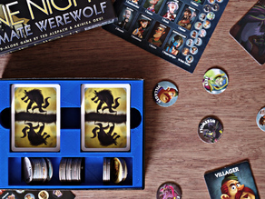 One Night Ultimate Werewolf game box insert