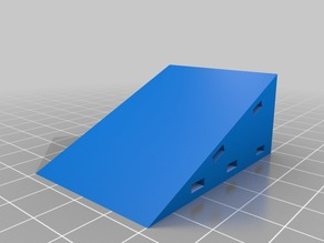 Simple angled Runcam2 mount