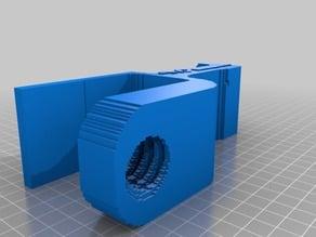 (3D Slash) headphone_holder_30mm_depth_extended_clamp