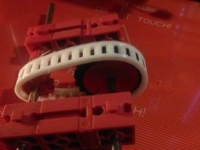chain for fischertechnik gears - ninjaflex