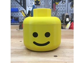 Lego Minifig Costume Head for Kids