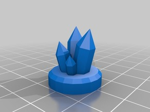 DnD Gem Artifact with Base