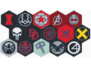 Marvel Coasters