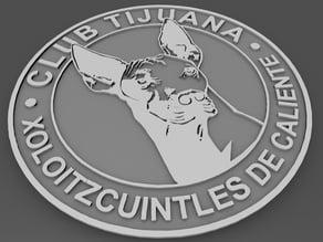 Liga MX - Xolos tijuana - easy print