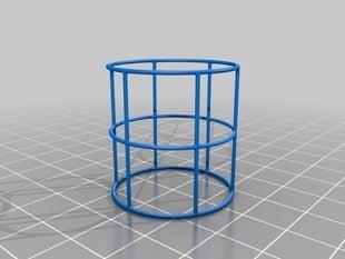 Wire Frame Cylinder