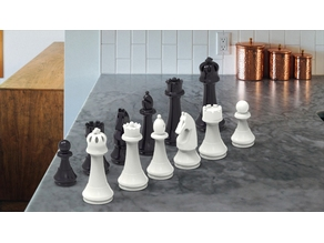 Chess Set, Tournament Dimension