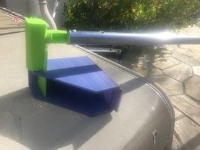 Hand or Pole Mounted Gutter Shovel