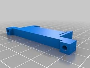 k8200 PCB DIN rail mounting clip