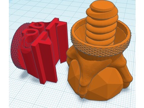 Adjustable Bouncy Ball Printer Feet