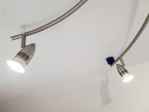 Ceiling Stand-Off for Ikea Husinge 5-spots Raillamp