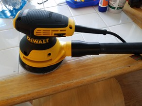 Dewalt Random Orbital Sander ShopVac Attachment