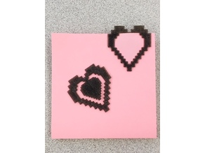 8Bit Heart paperclip
