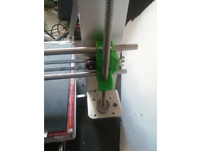 Prusa Z axis, so many problems yet one simpe solution, simplified !