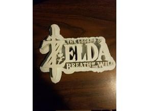 Legend of Zelda Breath of the Wild Logo