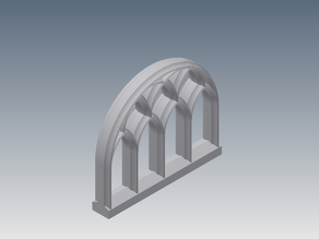 Gothic window - Gotisches Fenster
