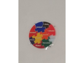 International Baccalaureate Wall Puzzle and small puzzle