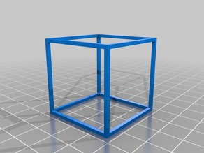 Cube geometrical shape
