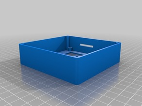 12864 LCD Display Box - simple