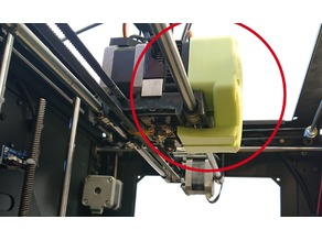 Wanhao D4S Extruder Cooling Duct