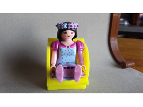 armchair for playmobil