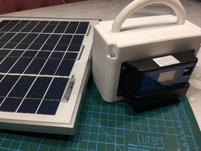 Mobile Solar Charge System