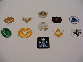 Elite Dangerous Powerplay Badges