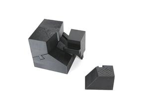 3D Cube-type Voronoi Puzzle