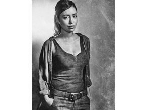 Rosita Espinosa Lithophane The Walking Dead