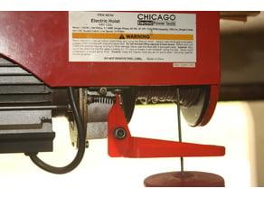 Shutoff Lever for Chicago Electric / Harbor Freight Hoist