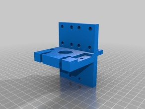 soporte hotend prusa i3 sunhokey mejorado + sensor inductivo
