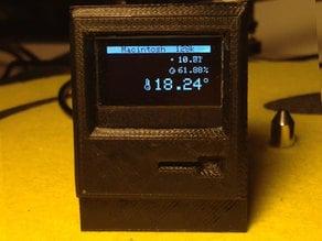 Macintosh 128k Home Thermometer