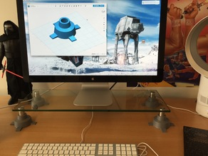 Star Wars AT-AT Feet for Monitor Stand