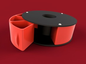Filament Spool Desk Organizer (HatchBox)