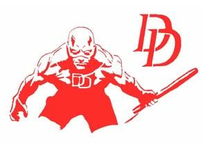 Dare Devil stencil