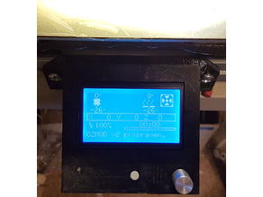 3D Printer 12864 graphical LCD cover for AL 30x30